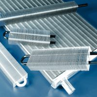 photo of finned tubes designed and manufactured by Sterling Thermal Technology