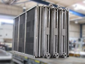 Steam air heater for chemical industry - Sterling Thermal Technology