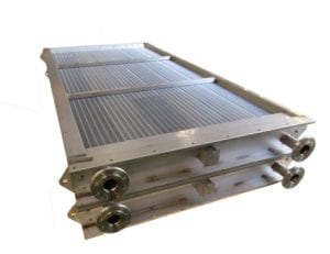 photo showing the modularity of Sterling Thermal Technology's steam air heaters