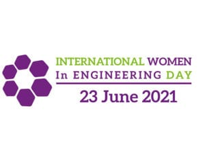 Logo International Woman in Engineering Day taking place on 23.06.2021